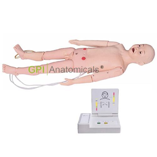 GPI/FT334全功能五岁儿童高级模拟人