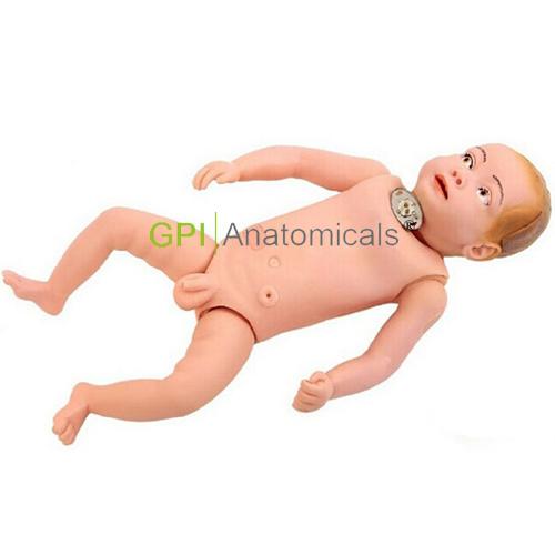 GPI/1007高级婴儿气管切开术后护理模拟人