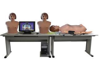 GPI/9900A高智能数字网络化体格检查教学系统(心肺双听诊、腹部触听诊、血压测量三合一功能)(学生实验台)