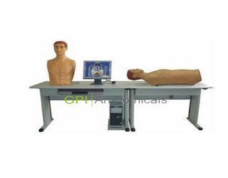 GPT/GGF(网络版)智能化心肺检查和腹部检查教学系统(学生机)