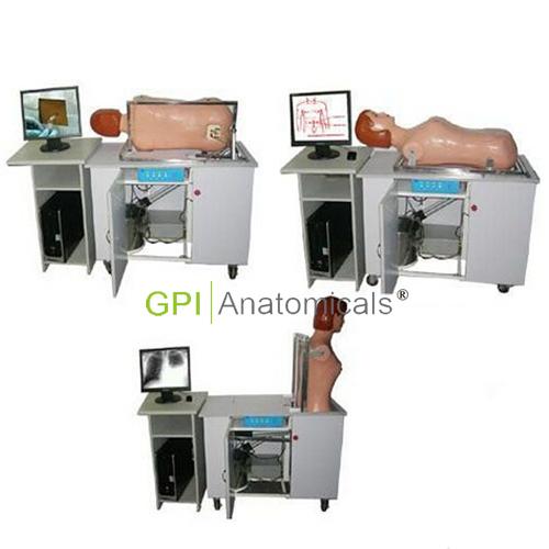 GPI/III网络多媒体全自动多种穿刺教学系统