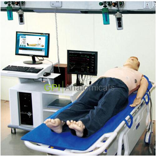 GPI/ACLS8000D高智能数字化成人综合急救技能训练系统(ACLS高级生命支持、计算机控制)(教师机)