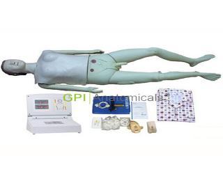 GPI/BLS580S最新高级多功能护理急救训练模拟人(心肺复苏、导尿功能)