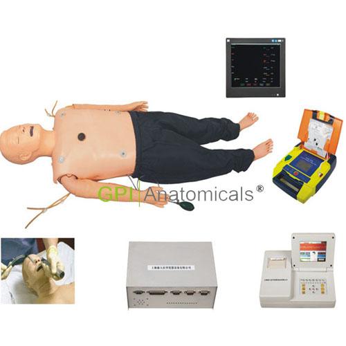 GPI/ACLS850高级多功能成人综合急救训练模拟人(ACLS高级生命支持、嵌入式系统)