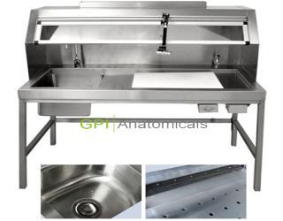 GPI/KDF-CRK65高级多功能不锈钢取材台