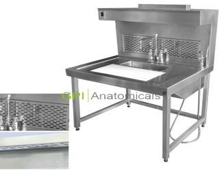 GPI/KDF-CRK66高级不锈钢取材台