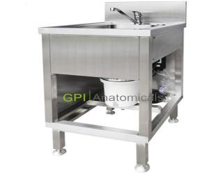 GPI/KDF-CRK70不锈钢电动洗涤池 带粉碎机