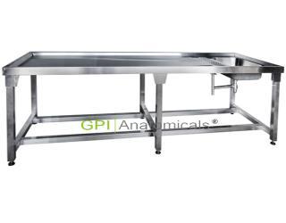 GPI/KDF-CRK78简易不锈钢解剖台