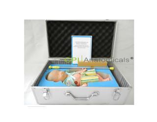 GPI/TPJM—3内置血液循环系统高级智能婴儿头皮静脉输液练习模型