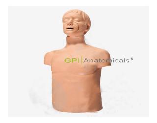GPI/CPR169+高级成人气道梗塞模型