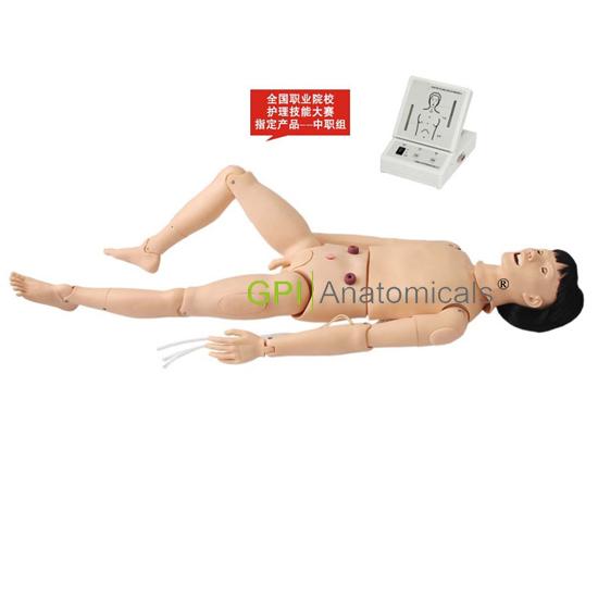 GPI/3000A 口腔护理(高级成人护理及CPR模拟人)