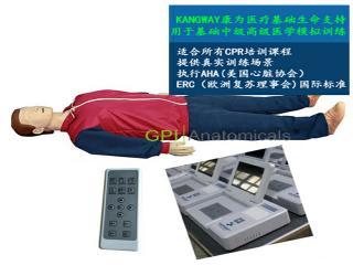 GPI/CPR10280高级全自动电脑心肺复苏模拟人 带遥控器