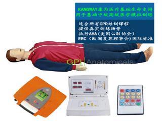 GPI/CPR300S-G高级实战演练版自动电脑心肺复苏模拟人