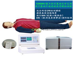 GPI/CPR580S高级中屏幕液晶自动电脑心肺复苏模拟人(2017新品)
