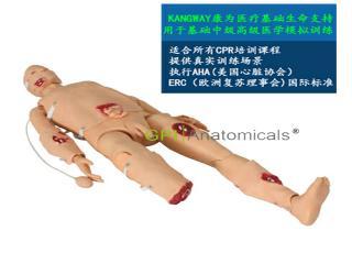GPI/1006高级心肺复苏与创伤急救模拟人