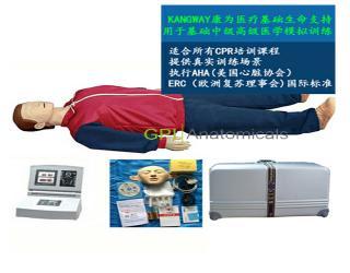 GPI/CPR300高级移动显示自动电脑心肺复苏模拟人(2017新品)