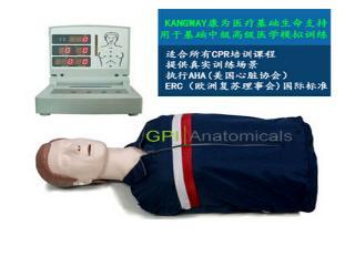 GPI/CPR260高级电脑半身心肺复苏模拟人