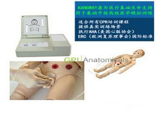 GPI/FT432全功能一岁儿童高级模拟人(护理、CPR、听诊三合一)
